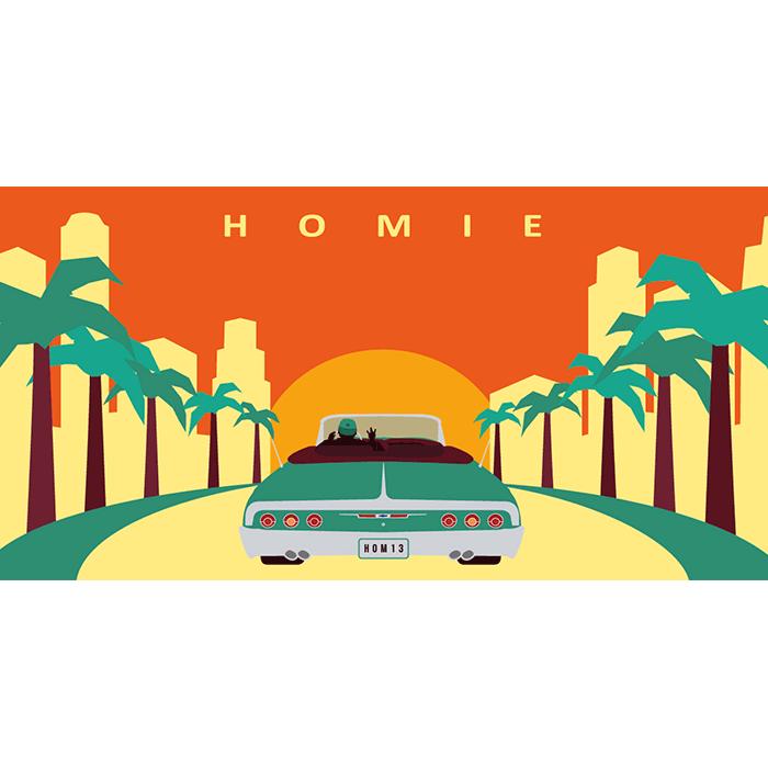 HOMIE estate 2017 - Fronte