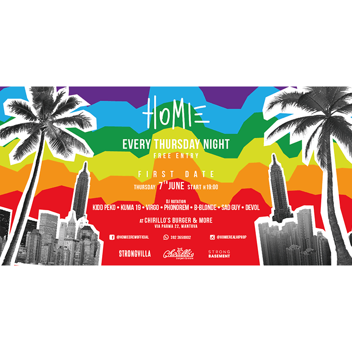 HOMIE estate 2018 - Retro
