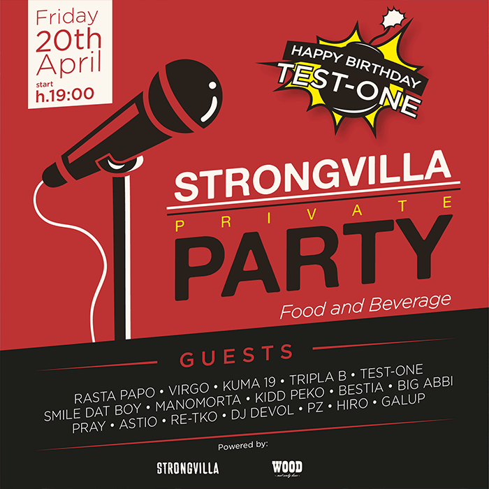 Strongvilla Party